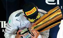 The meteoric rise of Lewis Hamilton