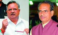 Shivraj Singh Chauhan and Raman Singh in the line of fire