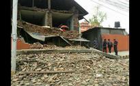Massive earthquake rocks Nepal, several buildings flattened