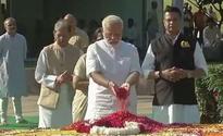 Kovind, Modi remembers Gandhi on his 148th birth anniv