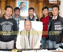 Churachandpur Scribes interact with Chief Minister