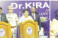 Kiran Bedi goes management style before assuming charge