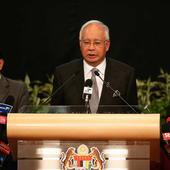 Malaysia PM Najib Razak says reports alleging corruption part of political sabotage