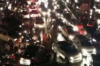 Rain throws traffic out of gear in Gurgaon