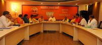 BJP president Amit Saha meets Odisha BJP leaders in New Delhi