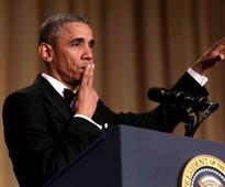 Obama Out: At last WH Correspondents dinner, takes digs at Trump, calls Sanders bright new face