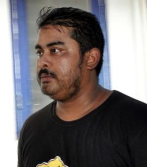 Mikhail Bora leaves for Mumbai from Guwahai