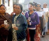 BJP sweep in Jkhand hung House in JK Surveys