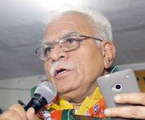 Cheif minister Khattar launches e-learning center in Gurgaon