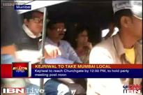 Arvind Kejriwal in Mumbai, takes an autorickshaw, gets Z security