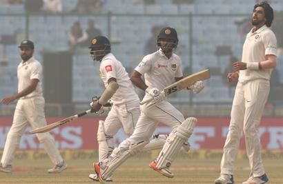 Stats: The Lankans who defied the Indians