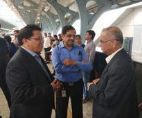 Leading by example: Narayana Murthy takes metro to commute in Bengaluru