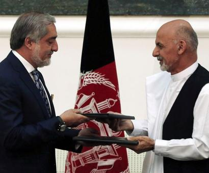 US hails Afghan power-sharing deal