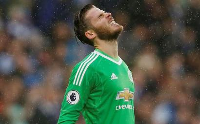 EPL PIX: Manchester United stunned by Huddersfield, lose first match of season
