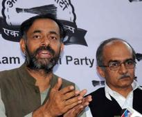 AAP puts on a brave, united face amid intense drama
