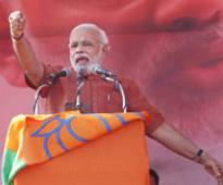 Exit poll predictions a boost for Narendra Modi