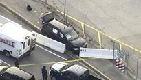 Suspect held, SUV stopped after shooting at NSA gate