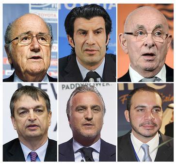 Portugal back Figo's campaign for top job at FIFA