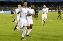 Brewster hat-trick in England win; Mali down Ghana in U-17 World Cup quarters