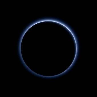 NASA reveals stunning images of blue skies on Pluto