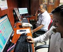 Sensex rises 100 points on positive global cues