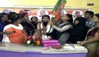 Triple talaq petitioner Ishrat Jahan joins BJP