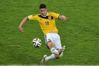 Colombian striker James Rodriguez signs Real Madrid
