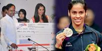 Sania awarded, Saina still waiting for the reward