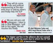 SP Walkout a Game Spoiler for Grand Alliance in Bihar?