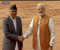Nepal PM Sher Bahadur Deuba accorded ceremonial welcome at Rashtrapati Bhavan