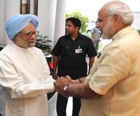 Eyebrows rise as Manmohan slams Modi, then meets him