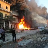 Army officer reported hurt in Damascus suicide bombing; army denies