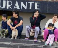 Powerful earthquake rattles Mexico, shakes buildings