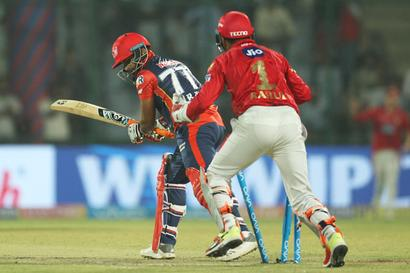 Turning Point: Early wickets hamper Delhi