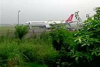 Delhi: Turkish jet ready for take off after no bomb found on board