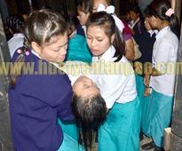 Students rally demands halt of Sangai Fest