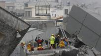 Over 100 missing, 13 dead as strong quake rattles Taiwan