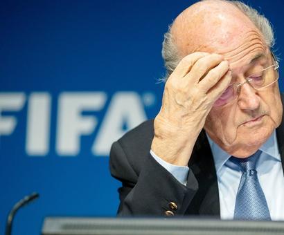 'Get out', world media tells Blatter!