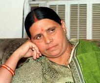 Rabri Devi attacks Nitish Kumar on law and order situation