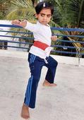 Five-year-old girl to master Kalaripayattu