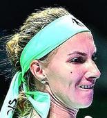 Radwanska falls to Kuznetsova