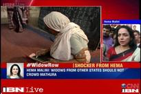Hema Malini sparks a controversy, says widows from other states should not crowd Mathura