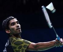 Shuttler Kidambi Srikanth Drops to World No.8