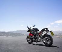 Triumph Speed Triple 1050R may ride into India real soon, imported for ARAI homologation test