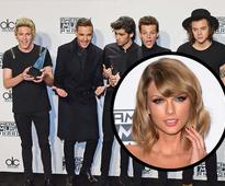 One Direction are the latest chart toppers dethrone Taylor Swift to sell 400K copies