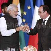 Global solar alliance to be launched by France- India