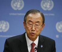 UN secretary general Ban Ki