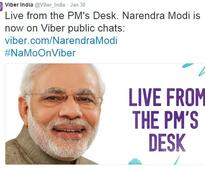 PM Modi joins Public Chats on Viber, gets over 6 lakh followers
