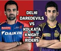 DD vs KKR Live Scores IPL 2016: Daredevils, Knight Riders look to consolidate position