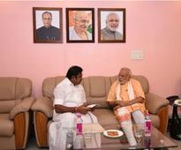 Tamil Nadu CM Palanisamy meets PM Modi